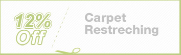 Cleaning Coupons | 12% off carpet restretching | Brooklyn Rug Cleaning