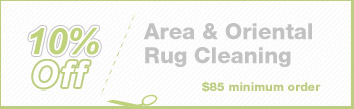 Cleaning Coupons | 10% off area rug cleaning | Brooklyn Rug Cleaning