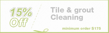 Cleaning Coupons | 15% off tile & grout cleaning | Brooklyn Rug Cleaning
